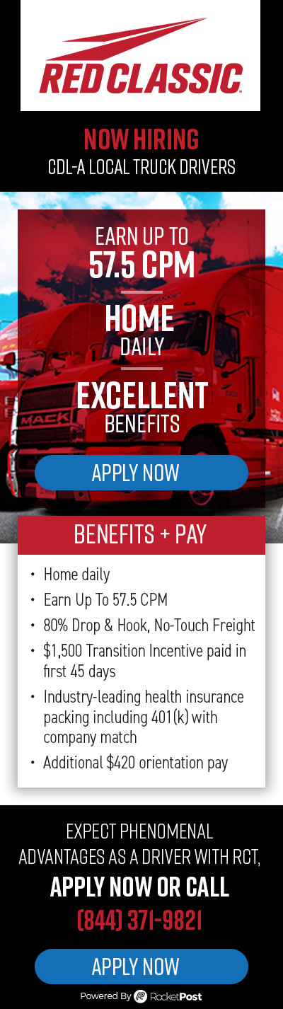 $1,500 Transition Incentive | Hiring CDL A Local SE ...