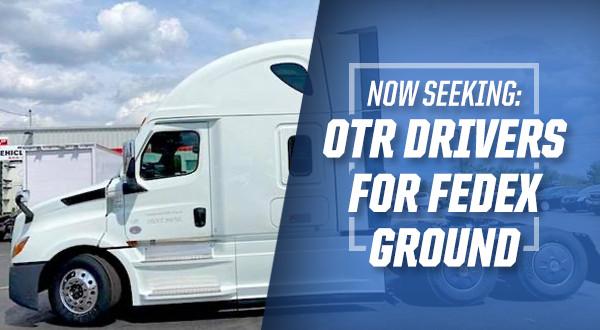 FedEx OTR Team Driver ** $1,625-$2,275/week + PAID ...